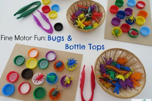 Bugs And Bottle Tops Learning 4 Kids