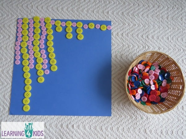 fine motor activity using buttons