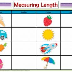 Printable Measuring Length Activity Mats