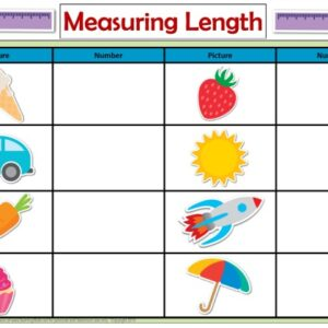 Printable Measuring Length Activity Mats