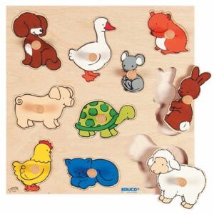 Animal Inlay Board Puzzle 339671