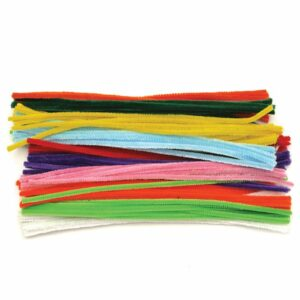 Chenille Stems Assorted Colours Pack of 100 487686