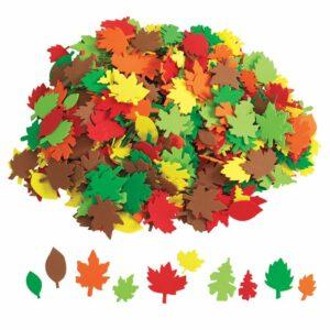 Colorations® Colourful Foam Leaf Shapes 445846
