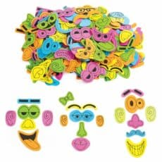 Colorations® Funny Foam Face Makers 500501