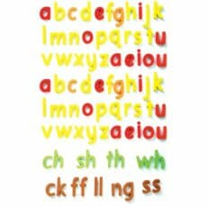 ColourCoded Magnetic Letters Print Pack 1 210849