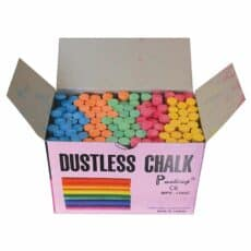 Coloured Dustless Chalk 003038