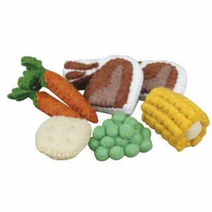 Felt Lamb Dinner Set 393850