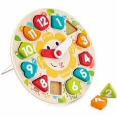 Hape Chunky Clock Puzzle 504097