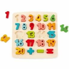 Hape Chunky Number Puzzle 504218