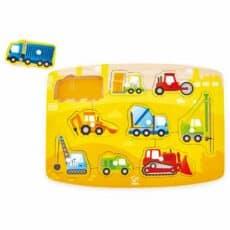 Hape Construction Peg Puzzle 504078