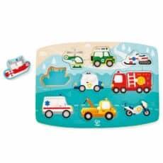 Hape Emergency Peg Puzzle 504045