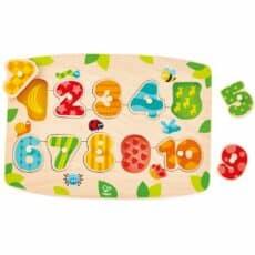 Hape Number Peg Puzzle 503907