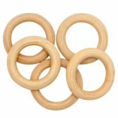 Natural Wooden Rings 486726