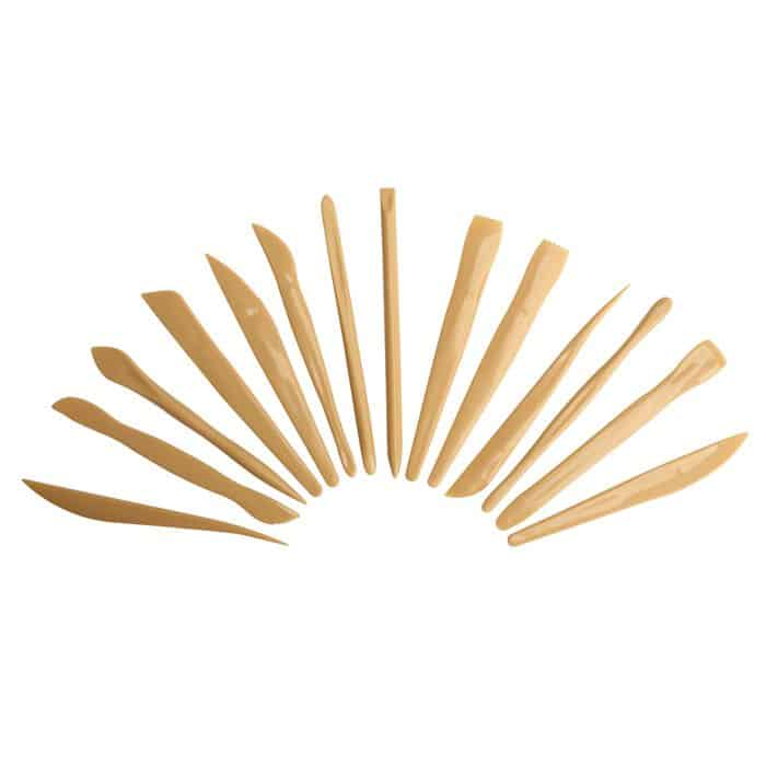 Plastic Play Dough and Clay Tools 459258