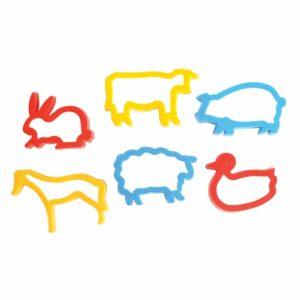 Play Dough Plastic Farm Cutters 459215