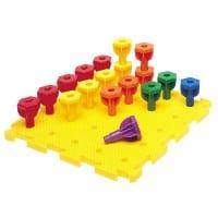 Rainbow Peg Play™ Activity Set 057018