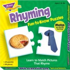Rhyming Puzzles 243394