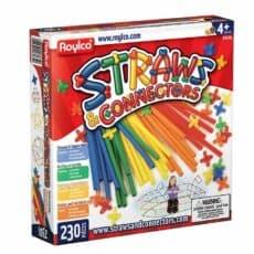 Straws & Connectors 230 Pieces 007609