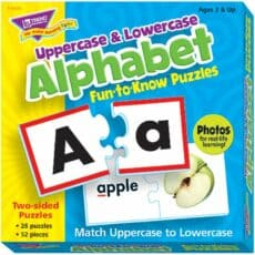 Uppercase and Lowercase Alphabet Puzzle 243311