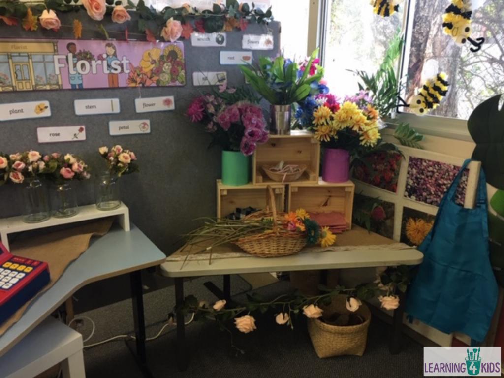 Flower Shop Role Play Ideas
