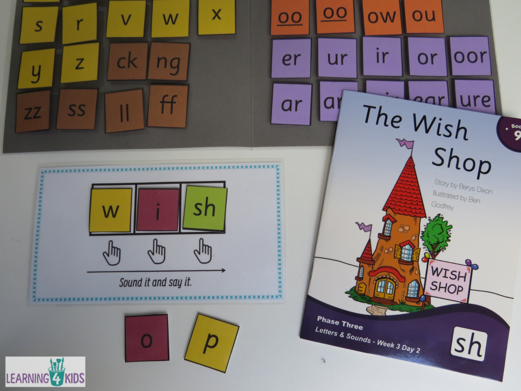 Supporting Beginning Readers Movable Alphabet Word Building Folder Kit