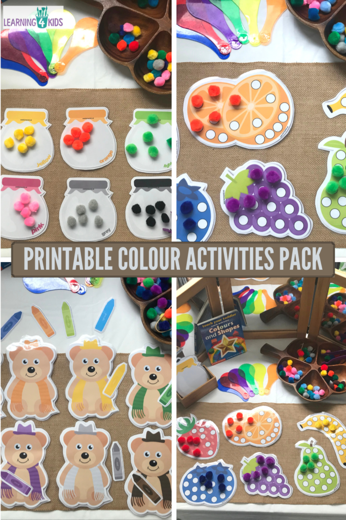 Printable Colour Activities Pack