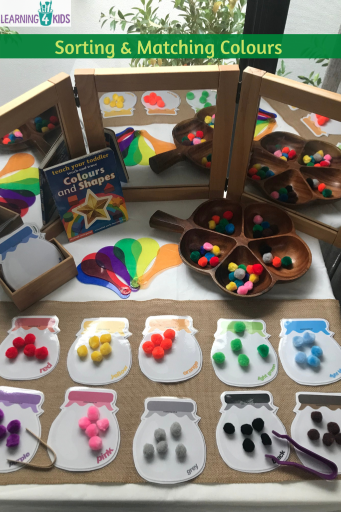 Sorting and Matching Colours Learning Centre